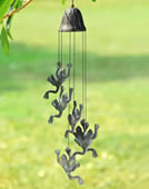 Jumping Frog Wind Chime