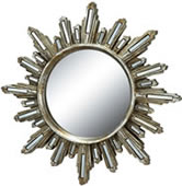 Deco Radiance Wall Mirror