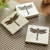 Dragonfly Coasters, Set of 4