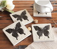 Butterfly Coasters, Set of 4