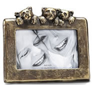 Bear Cub Trio Picture Frame