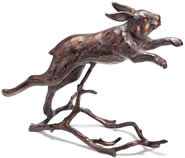 Running Bunny Garden Sculpture
