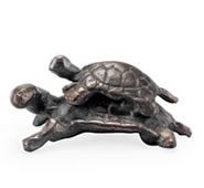 Traveling Turtles Garden Sculpture