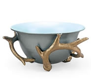 Antler Bowl Holder