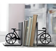 Bicycle Bookends Pair