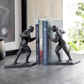 Greek Athlete Bookends Pair