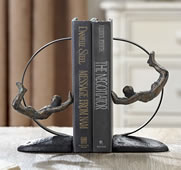 Acrobat Bookends Pair