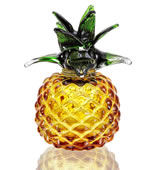 Art Glass Pineapple