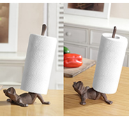 Frog Paper Towel Holders Set of 2