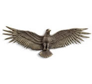 Proud Eagle Wall Plaque