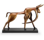 Contemporary Bull Statue
