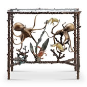 Octopus Pair Lobby/Console Table