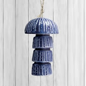 Ceramic Stylized Jellyfish Windchime