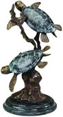 Sea Turtle Duet- 15.5 Inch