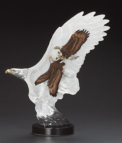 Leading The Way- Eagle Sculpture by Kitty Cantrell