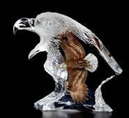 Journey Mixed Media Eagle Sculpture