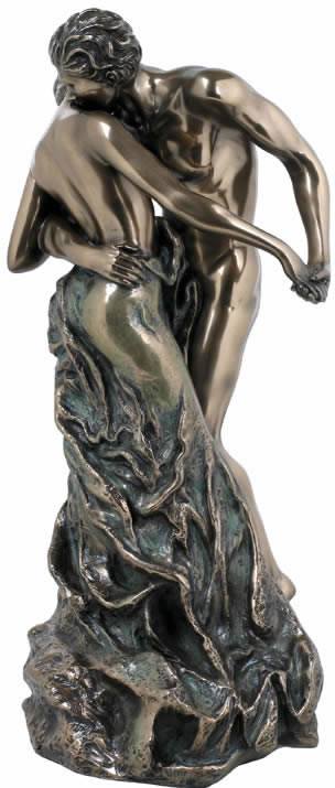 Expressions- Nude Couple Sculpture