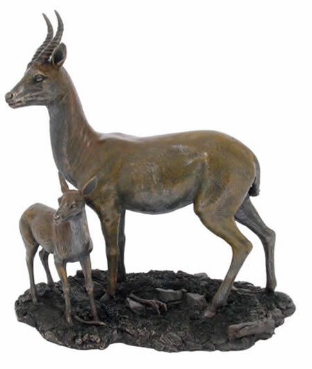 Serengeti Gazelle Sculpture