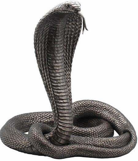 King Cobra Snake Sculpture Stu Home Aawu75184a1