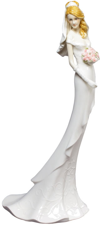 Beaming Bride Statue