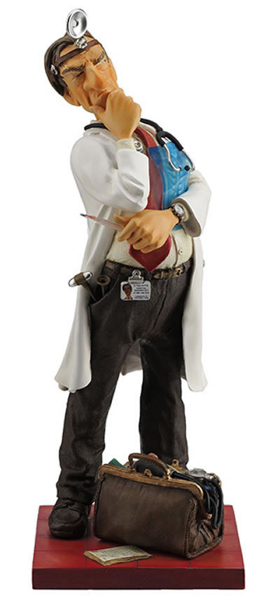 The Doctor Statue by Guillermo Forchino