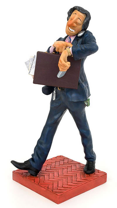 The Businessman Statue by Guillermo Forchino