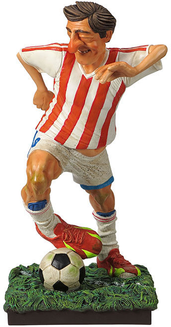 The Football (Soccer) Player Statue