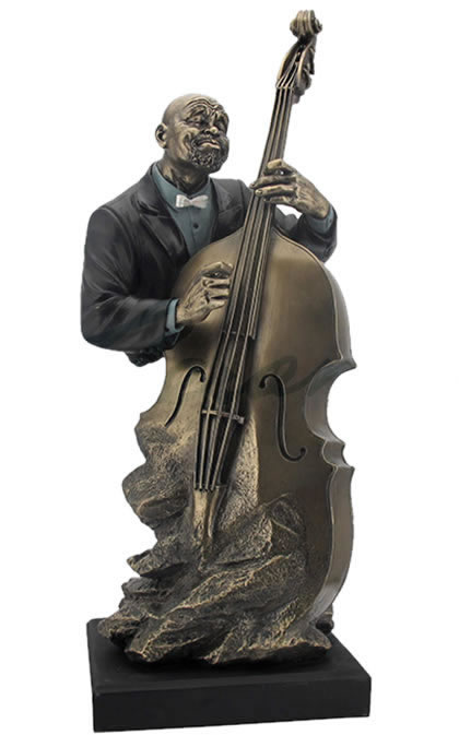 classic jazz band bass sculpture stu home aawu71866a5