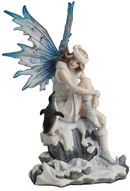 Whimsical Charmer Fairy Statue