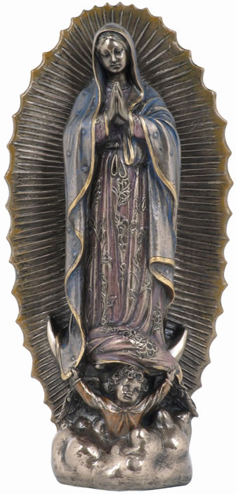 Virgin Of Guadalupe Sculpture