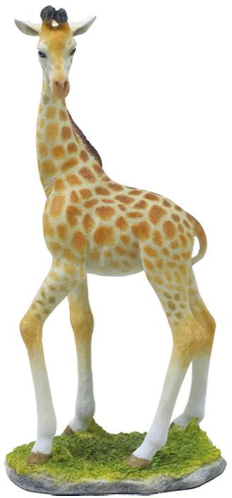 Baby Giraffe Standing Statue Stu Home Aawu75098aa