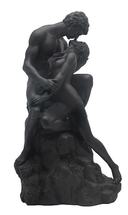The Lovers Statue (Matte Black)