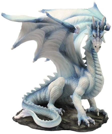 White Dragon Statue