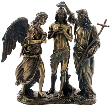 Baptism Of Christ Sculpture