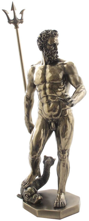 Poseidon god of the sea statue stu home aawu75249a4 - Poseidon statue greece ...