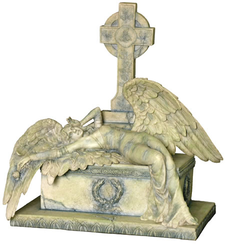 angel of gothic tombstone-#21