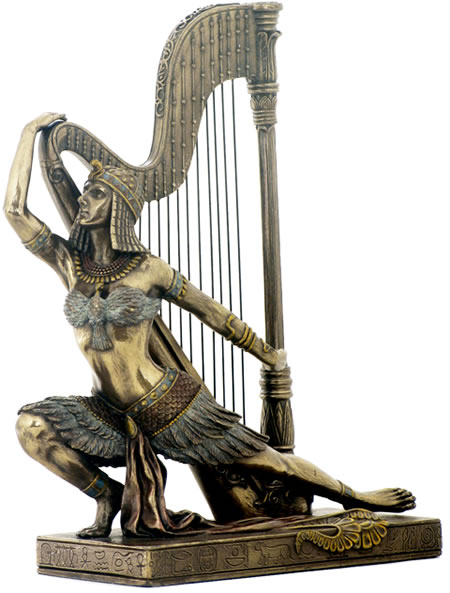 Art Deco Egyptian Dancer Sculpture