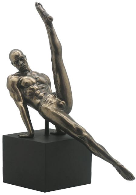 Introspection II- Bronze Male Nude Sculpture, STU-Home