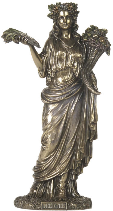 Demeter, Greek Goddess of Harvest Statue, STU-Home ...