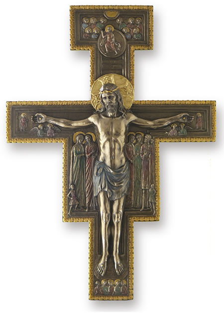 Orthodox Crucifix Wall Plaque