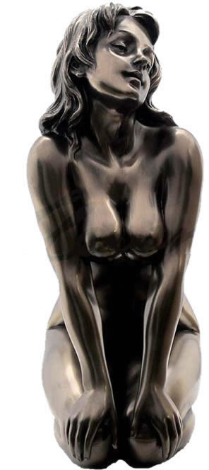 Expose I Female Nude Statue