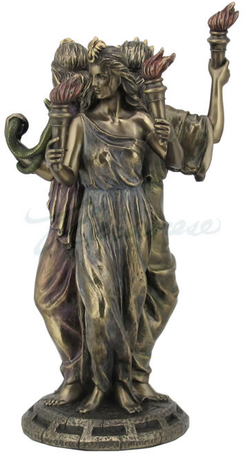 Hecate Statue Greek Goddess Of Magic Stu Home