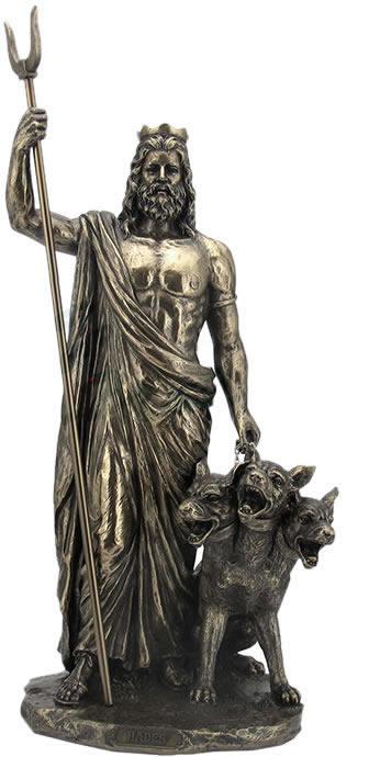 Hades Greek God Of The Underworld Sculpture Stu Home