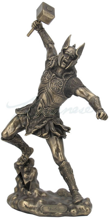 Thor, Norse God Of Thunder Sculpture