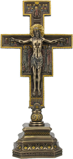 San Damiano Crucifix On Stand