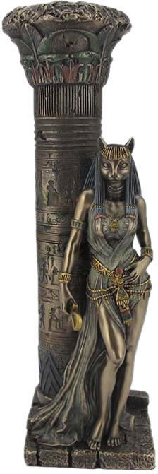 Bastet Egyptian Goddess of Warfare Sculpture