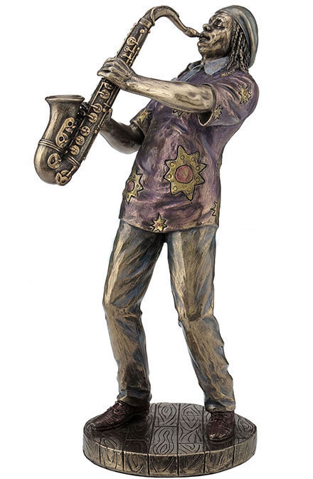 Jazz Band- Saxophone Player Statue