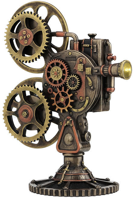 Steampunk Projector
