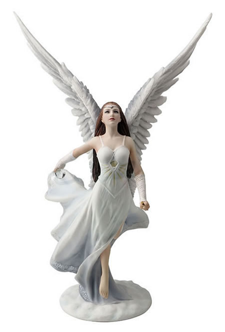 Ascendance Angel Statue by Anne Stokes