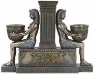 Egyptian Pharaohs Candleholder